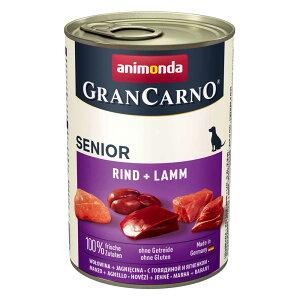 【正規輸入品】アニモンダ グランカルノ ウェット シニア 牛肉・子羊肉 犬用 400g