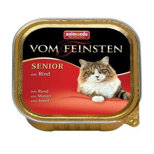 【正規輸入品】アニモンダ フォムファインステン シニア 牛肉・豚肉・鶏肉 猫用 100g