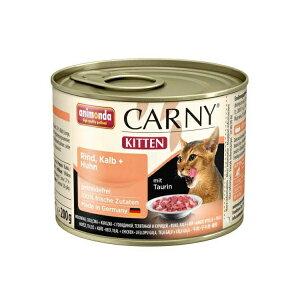 【正規輸入品】アニモンダ カーニー ミート キツン 牛肉・子牛肉・鶏肉 猫用 200g