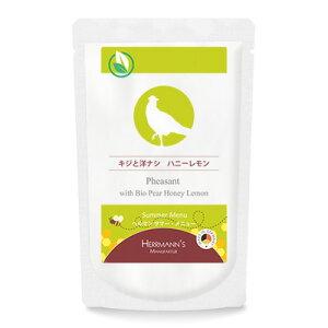 【正規輸入品】ヘルマン サマー・メニュー キジと洋ナシ ハニーレモン 120g(肉汁含む)