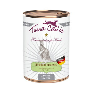 【正規輸入品】テラカニス ハイポアレルジェニック(低アレルギー) カンガルー肉 犬用 400g