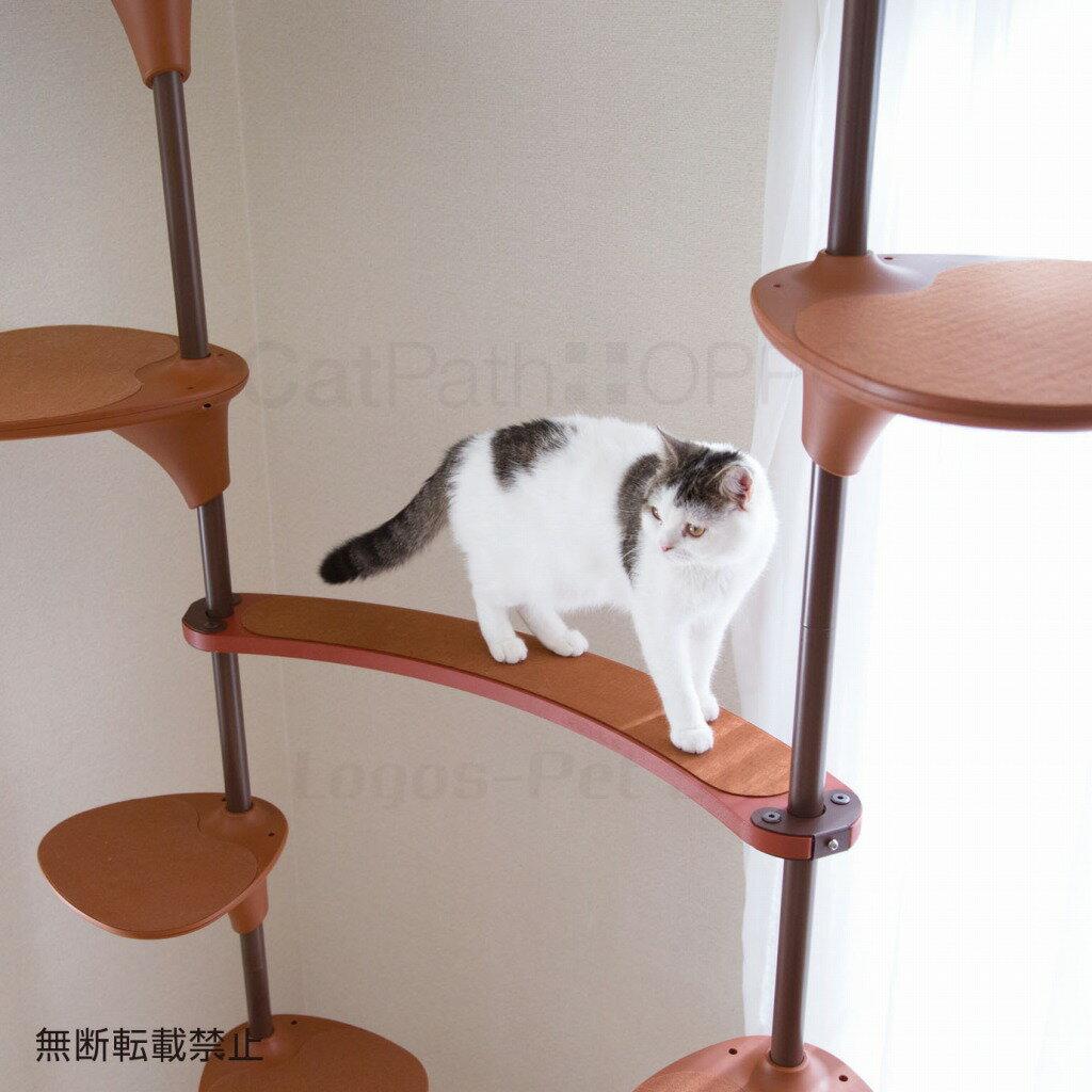 OPPO (オッポ) Cat Forest option(キャットフォレストオプション)キャットパス 猫用 ブラウン/ホワイト