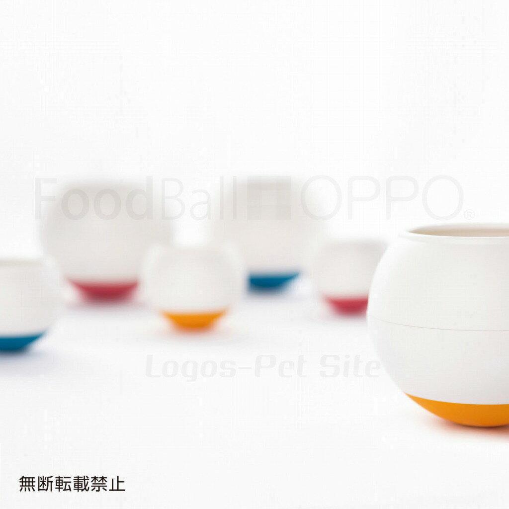 OPPO (オッポ) FoodBall (フードボール)食器 犬用 レギュラー チェリー/オレンジ/ブルー