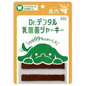 Dr.デンタル 乳酸菌ジャーキー 鹿肉 犬用 6本