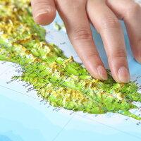 立体日本地図カレンダー2020商品画像説明人物3