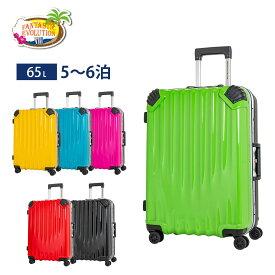 【SALE】ロジェールジャパン スーツケース キャリーケース Mサイズ 65L フレームタイプ ファンタスティックエボリューション FE-0770-60