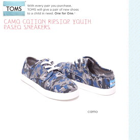 Toms Shoes トムス シューズ Canvas PASEO CAMO キッズ カモフラ スニーカー