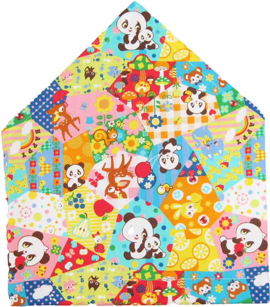 三角巾(動物柄)子供用 三角巾 子供三角巾 幼児用三角巾 通園 通学 入園 入学 幼稚園 保育園 小学校 ロリポップ