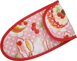 子供用はさみケース ピンクケーキ柄  入園入学 幼稚園 保育園 小学校