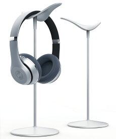 ヘッドホンスタンド ヘッドホン 掛け ハンガー アルミ 合金製バー 樹脂製 便利 収納 保管 卓上 デスク スタンド 組み立て式 シンプル おしゃれ ヘッドフォン ディスプレイ ヘッドセット headphone stand インテリア