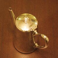 【中古】AirFrance(エールフランス)Christofle(クリストフル)製コーヒーポットch-103【アンティーク】【フランス製】