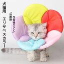 エリザベスカラー 猫用 犬用 ソフト やわらか 綿質 軽量 術後 柔らかい ヘルスケア 保護襟 傷舐め防止 噛む防止 術後…
