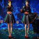 キョンシー コスプレ ハロウィン 仮装 衣装 コスチューム キョンシーガールズ 中国の妖怪 レディース ハロウィン衣装 …