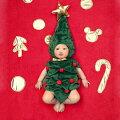 サンタクロースやトナカイなど、クリスマス会にピッタリ!赤ちゃん(1歳女の子)の可愛すぎるクリスマス衣装のおすすめは?