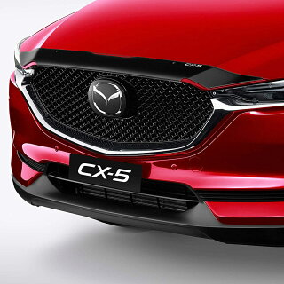 MazdaCX-5KFボンネットプロテクタースモークバグガード2017-2019オーストラリアマツダ純正ドライブ車用品外部パーツ
