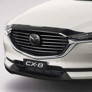 MazdaKGCX-8ボンネットプロテクタースモークバグガード2018オーストラリアマツダ純正