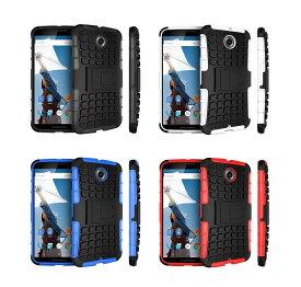 [画面保護シール付]Nexus 6 用 ケース Google Nexus6 ネクサス6 グーグル Motorola スマホ カバー 選べる4色