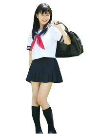 セーラー服 半袖 女子高生 制服 コスプレ セクシー JK 衣装 パーティーグッズ 余興 ステージ衣装