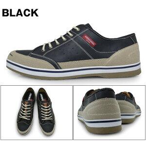 メンズスニーカーローカット軽量カジュアルシューズWHITEBROWNNAVYREDBLACKGREYDENIM靴くつブランドAMERICANINOEDWINAE-827アメリカニーノエドウィン白茶紺赤黒灰