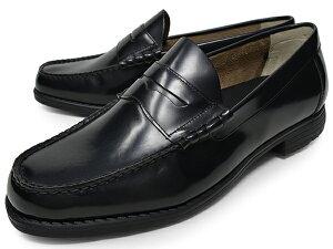 ローファーメンズ本革アシックス商事本革軽量幅広2EEE相当ラウンドトゥasicstexcyluxeテクシーリュクスコインローファースリッポン立ち仕事靴紳士靴大きいサイズ送料無料