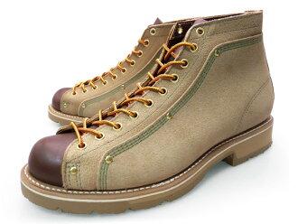 THOROGOOD ROOFER BOOTS 633-1 ROOFER BEIGE独唱良好人鲁弗长筒靴浅驼色韦德口水巾羊羔鞋底工作长筒靴猴子长筒靴