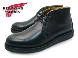 REDWING 9196 CHUKKA BLACK POSTMAN SHOE レッドウイング ポストマン シューズ チャッカ ブラック レザー 本革 ブーツ 送料無料