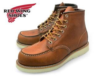 红 875 ORO 笔墨商务部脚趾爱尔兰二传手靴红翼爱尔兰二传手模拟两个原始皮革 6 英寸工作靴品牌
