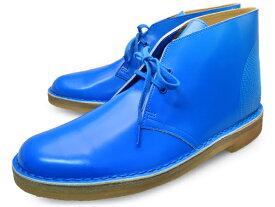 クラークス デザートブーツ コバルト パテント レザー UK規格 ( CLARKS DESERT BOOT 20352804 COBALT PATENT LEATHER Record Store Day UK ) くらーくす メンズ 靴 ブーツ シューズ ブランド あす楽