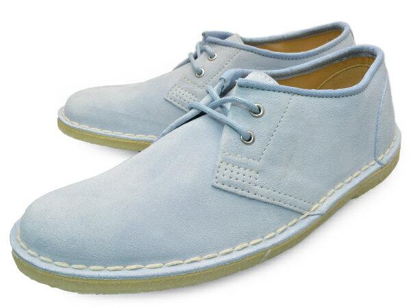 CLARKS JINK 20353039 PALE BLUE UK規格 クラークス ジンク ペールブルー スエード クラークス レディース クラークス スウェード クラークス 靴 クラークス ブーツ シューズ 本革 水色 水 青 送料無料 あす楽