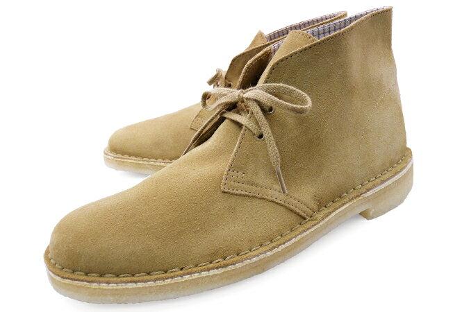 クラークス デザートブーツ オークウッド スエード US規格 ( CLARKS DESERT BOOT 70529 OAKWOOD SUEDE US ) くらーくす メンズ(男性用) 靴 ブーツ シューズ ブランド 本革 送料無料 あす楽