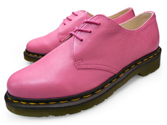 Dr.Martens 1461 3EYE 鞋覆盆子 10084610 马滕斯 3 马皮靴花边 DMC 唯一品牌的覆盆子女士