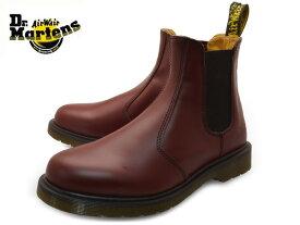 Dr.Martens 2976 CHELSEA BOOT 11853600 CHERRY RED SMOOTH ドクターマーチン チェルシーブーツ メンズ レディース サイドゴアブーツ 赤 レッド レザー 本革 靴 サイドゴア ブーツ ユニセックス 送料無料