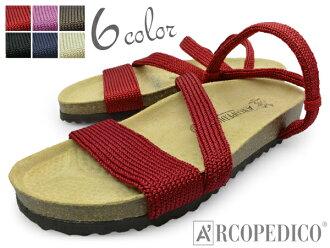 女装凉鞋 ARCOPEDICO 幻想/S 凉鞋 arcopedico 花式舒适凉鞋休闲品牌
