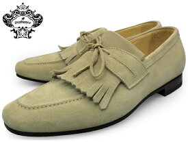 OROBIANCO VERONA GYSEN MENS QUILT MOCASSIN SHOES オロビアンコ ヴェローナ ベローナ ベージュ キルト モカシン スエード 本革 革靴 シューズ 靴 イタリア 送料無料
