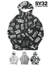 ウィンドブレーカー ポケッタブル ライトアウター 撥水 ランニングアウター モノトーン 総柄 グラフィック S/M/L/XL LL ◆ACTIVE WINDBREAKER◆ SY32 by SWEET YEARS Official エスワイサーティトゥバイスウィートイヤーズ オフィシャル [9130]