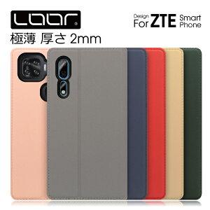 LOOF SKIN ZTE Axon 10 Pro 5G ケース 手帳型 Libero S10 手帳型ケース リベロ カバー 手帳型カバー ブック型ケース ゼットティーイー スマホケース フォリオケース スマホカバー カード収納 スタンド