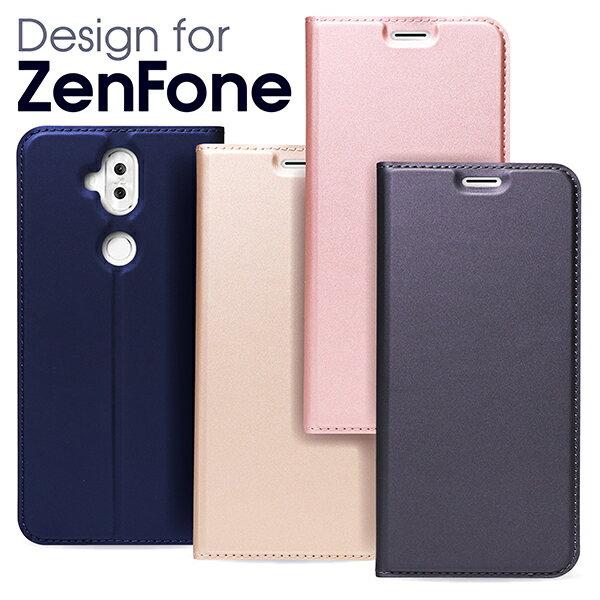 【上質な手触り】 ZenFone5 ケース 手帳型 ZenFone 5Z 5Q カバー 財布型 ZenFone4 4 Max 手帳型ケース 手帳型カバー ZC520KL ZC600KL ZE620KL ZS620KL ZE554KL ZenFoneケースZenFoneカバー カード収納 スダント クリアケース ベルト無し フタピタッ SKIN LOOF