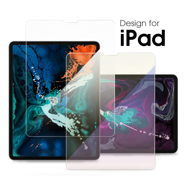 iPad Pro 2018 ガラスフィルム iPadPro 11インチ 12.9インチ フィルム ガラス NEW iPad 2017 Air2 Air ブルーライトカット フィルム 目に優しい iPad2 iPad3 iPad4 iPad Pro 9.7インチ 10.5インチ 液晶保護フィルム アイパッド フィルム ガラスシート 9H 0.3mm iPadフィルム