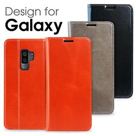 【本革 磁石無し】 LOOF Simplle Galaxy S9 ケース S9+ S9Plus カバー 手帳型 S8 S8+ S8Plus 手帳型ケース 手帳型カバー 厳選牛革 SC-02J SCV36 SC-03J SCV35 SCV38 SCV39 SC-02K SC-03K カード収納付き ベルト無し 高品質 マグネットなし Galaxyケース ブック型 財布型
