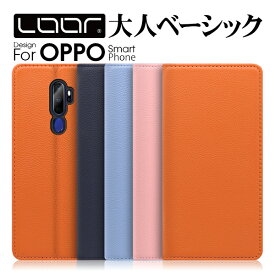 LOOF Pastel OPPO AX7 ケース Reno 10x Zoom A 128GB 手帳型 本革 R17 Neo 手帳型ケース R15 Pro カバー 牛革 R17Neo R17Pro R15Neo R15Pro スマホケース ブック型 手帳型カバー 左利き カードポケット カード収納 ベルト無し パステルカラー シンプル