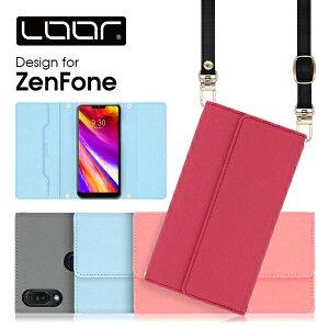 LOOF Strap ZenFone Max Pro M2 ケース クラッチバッグ風 ストラップ ZenFone5 スマホカバー L1 カバーZB631KL ZB634KL ZB633KL ZB602KL ZA550KL ZB555KL ZC600KL ZS620KL ZE620KL ZB570TL ZC520KL ASUS ゼンフォン スマホケース ネッ