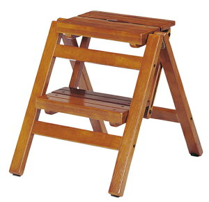ステップチェア 2段 折り畳み 脚立 踏み台 昇降台 階段 FST-46 LOOKIT オフィス家具 インテリア
