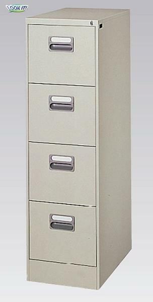 ファイリング キャビネット A4 書庫 ケース 引出 棚 A4-4N ルキット オフィス家具 インテリア