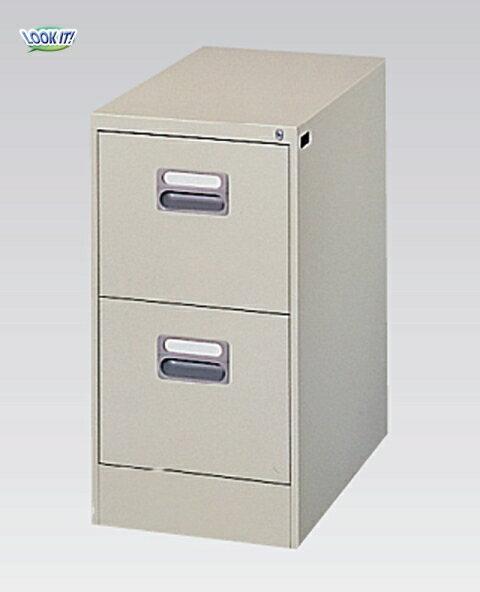 ファイリングキャビネット A4サイズ 書庫 棚 収納 整理 A4-2N ルキット オフィス家具 インテリア