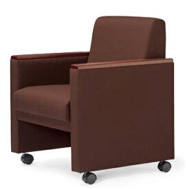 ★45%OFF★ アームチェア キャスター付き 布張り ビニールレザー張り 会議椅子 ミーティングチェア RE-4681 LOOKIT オフィス家具 インテリア