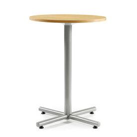 【法人限定】 ハイテーブル 丸型 直径750mm 送料無料 ハイタイプ ロビーテーブル オフィス家具 リフレッシュ・ラウンジテーブル BTH-750R