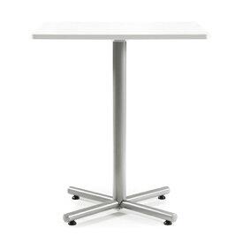 【法人限定】 ハイテーブル 角型 W900×D900mm 送料無料 正方形テーブル オフィス家具 ロビーテーブル リフレッシュ・ラウンジテーブル BTH-900K