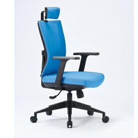オフィスチェア 肘付き 送料無料 ヘッドレスト付き メッシュチェア デスクチェア ミーティングチェア オフィス家具 事務所 オフィス KS-2070