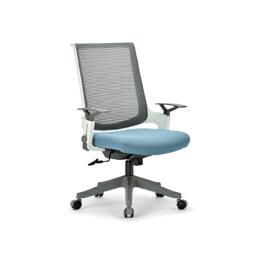 【法人限定】 オフィスチェア 肘付き 布張り 送料無料 キャスター付きチェア デスクチェア ミーティングチェア オフィス家具 会議 MA-2002WG