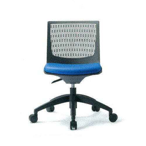 ミーティングチェア 布張り レザー張り キャスター付き 肘なし 回転5本脚 椅子 イス いす 会議椅子 オフィスチェア 会議室 デスクチェア パソコンチェア MC-557
